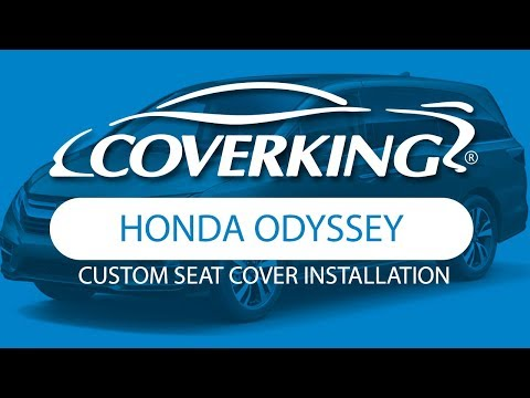 How To Install 2017-2020 Honda Odyssey Custom Seat Covers | COVERKING®