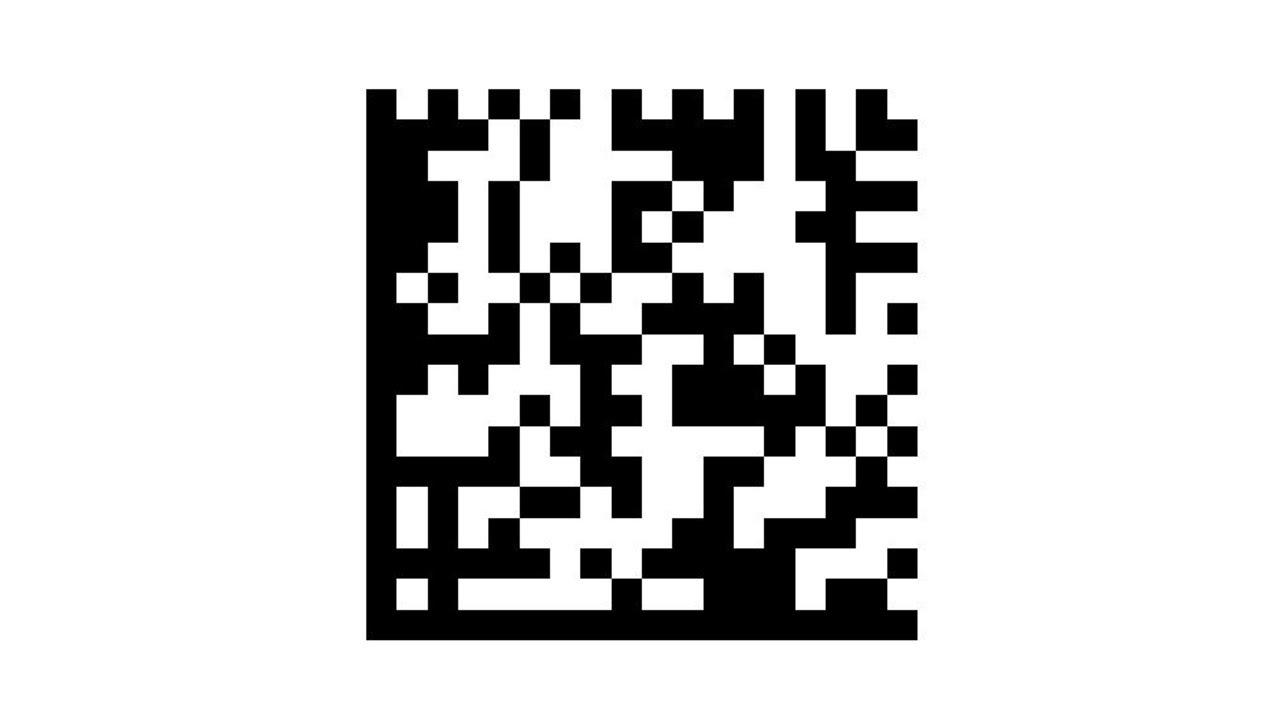 Datamatrix Barcode Creation