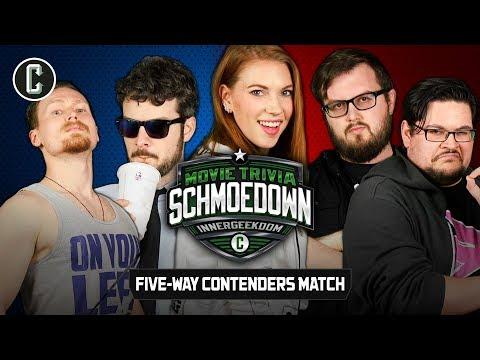 Innergeekdom League 5-Way Match - Movie Trivia Schmoedown