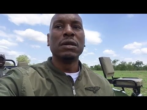 Tyrese Gibson Flees To Africa To Get Away From 50 Cent And His Baby Mama