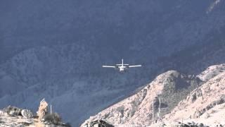 Favourite of Flight Simulator Fans:Twin Otter landing at Jomsom Airport, Nepal