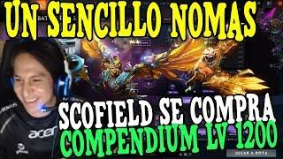 ¡INCREIBLE! SCOFIELD SE COMPRA COMPENDIUM NIVEL 1200