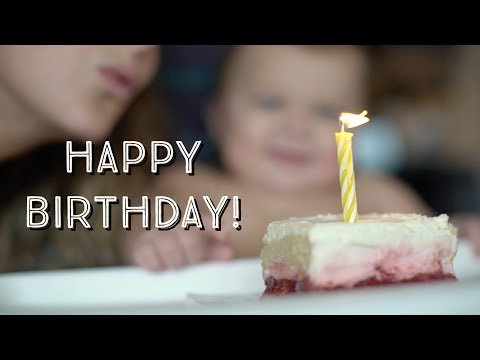 BABY'S 1st BIRTHDAY! *Devours Cake