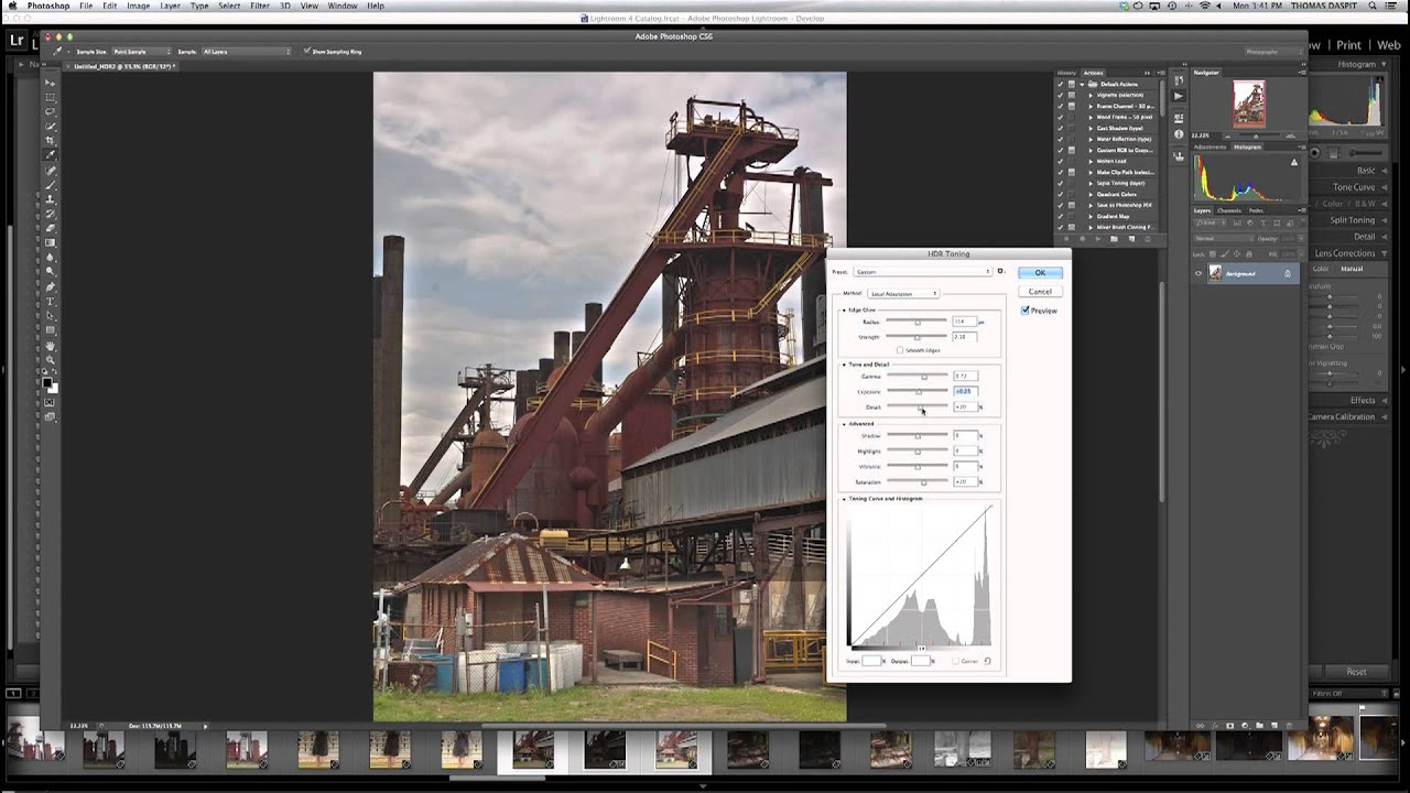 HDR Photography, Merge to HDR in Adobe Camera Raw Tutorial ...