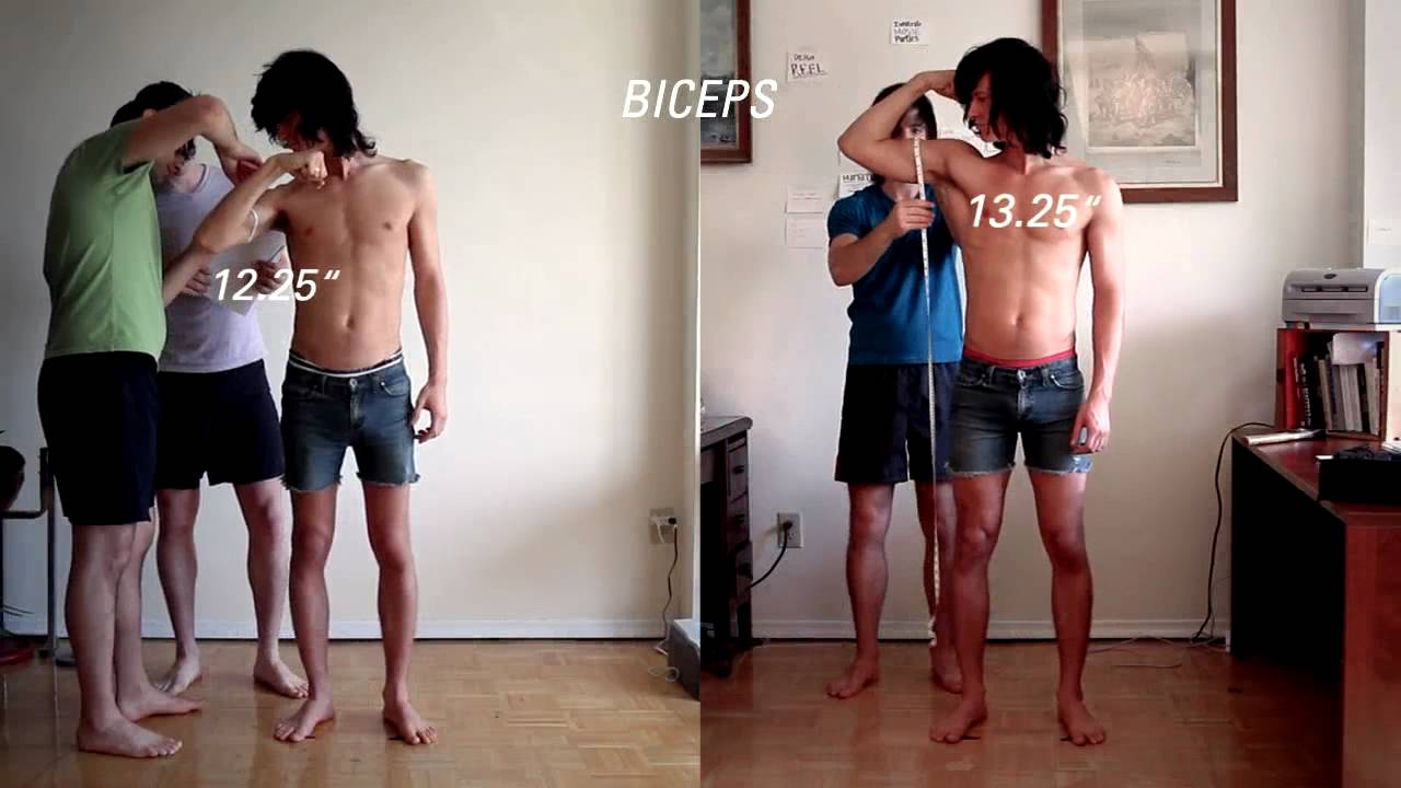 Ectomorph Transformation, Part Two: 90 Day Results (Before