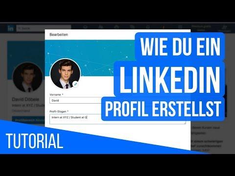 LinkedIn-Tutorial: Professionelles Profil Erstellen Auf LinkedIn