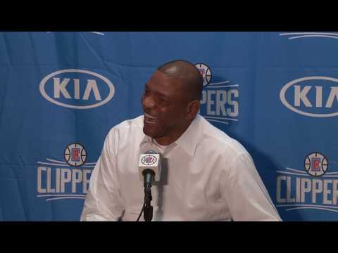 Press Conference Story Time with Doc Rivers - Trying to get Ejected to Watch The Masters