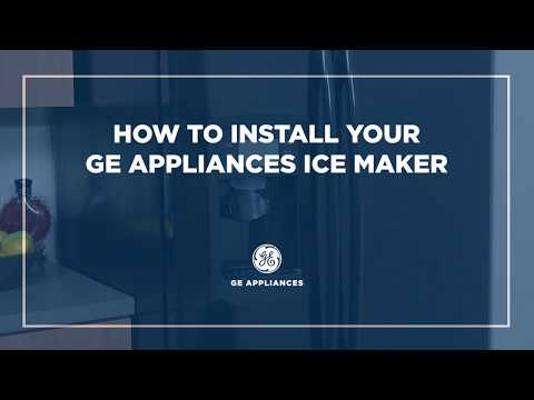 GE Appliances IM6D Icemaker Installation from YouTube · Duration:  4 minutes 13 seconds