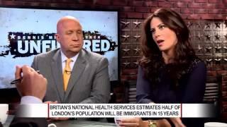 Thomas Ruskin Appears on Newsmax - The Islamization of England. 06-24-2016