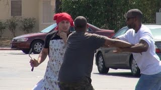 Egging Cars In The Hood Prank!