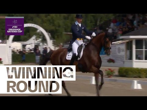 Patrik Kittel Victorious In Falsterbo (SWE) | FEI Dressage Nations Cup™ 2019
