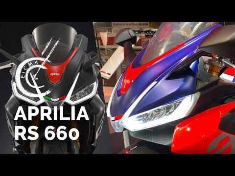 Aprilia RS 660 - Salon EICMA 2019 -  Nouveautés Motos 2020