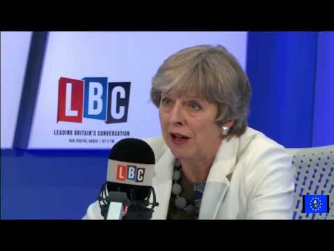 Brextemist Tories 'relaxed' about Theresa May's embarrassing LBC interview
