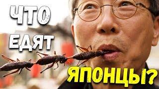 В Японии едят насекомых. Рискнете попробовать? Странная японская еда [Что едят японцы]