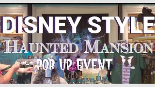Disney Style Haunted Mansion pop up event!