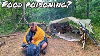 Food Poisoning in the Wild - Man Down! This is What Happened - Day 9 of 12