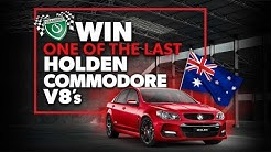 WIN one of the last Holden Commodore V8's