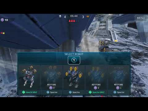 HELL vs 3 EXO PLAYERS | War Robots FREE-FOR-ALL