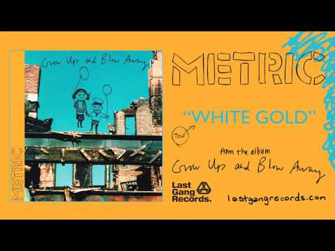 Metric - White Gold