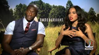 The Underground on WGN interview w/ Jurnee and Aldis