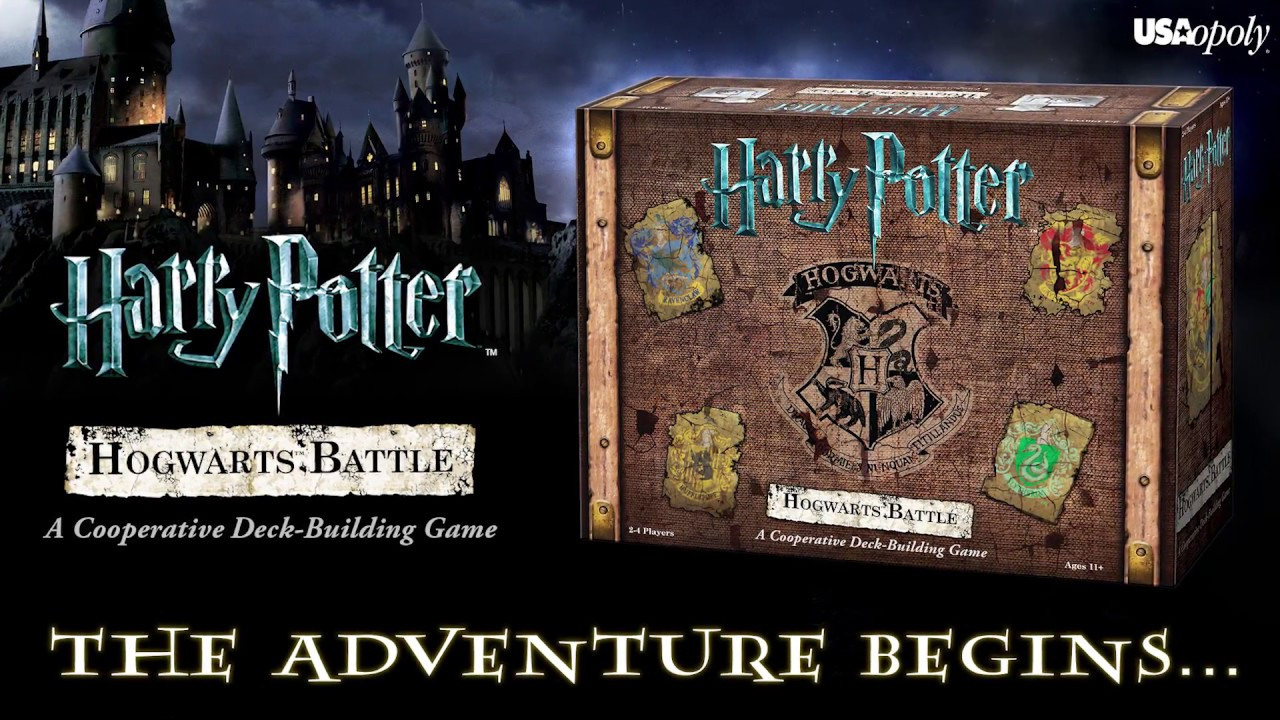 How To Play Harry Potter Hogwarts Battle By Usaopoly Youtube
