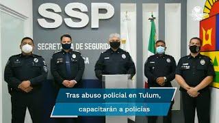 """La Secretaría de Seguridad Pública de Quintana Roo informó que los policías municipales serán enviados a la Academia Estatal de Seguridad de Chetumal, para recibir el curso con nivel de especialización denominado """"actuación legal y técnica policial"""""""