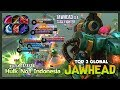 OverCarry Jawhed with Berserker s Fury  Hulk No1 Indonesia Top 3 Global Jawhead   Mobile Legends