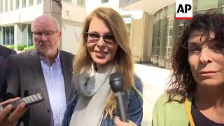Allison Mack, CatherIne Oxenberg attend court appearance for NXIVM founder whose bail was denied