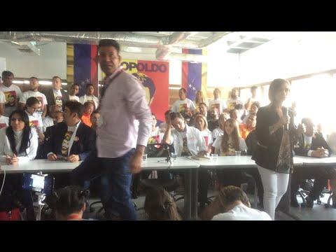 EN VIVO: Rueda de prensa del presidente encargado de Venezuela Juan Guaidó
