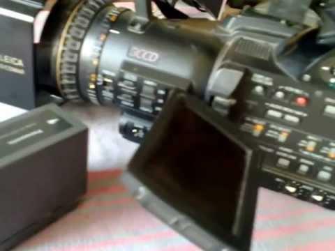 Panasonic 102B camera 3ccd