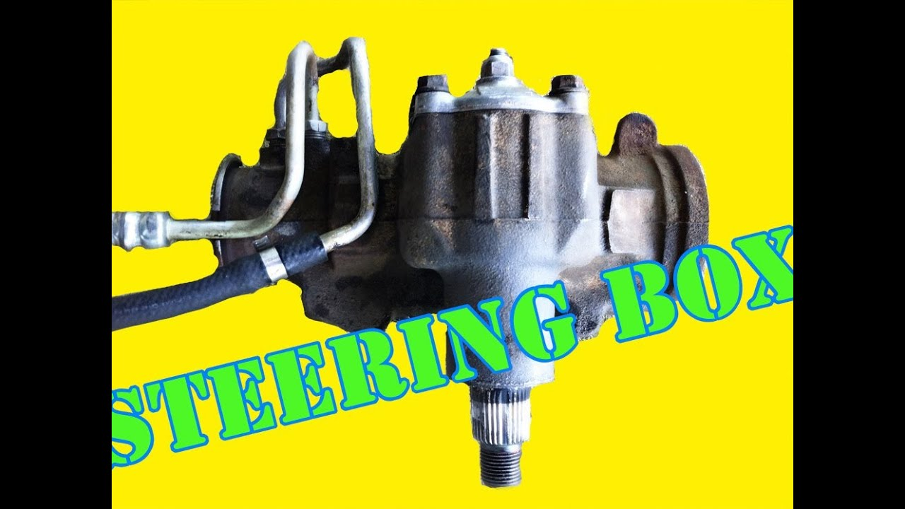 How To Remove Your Steering Gear Box Youtube