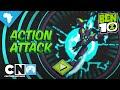 Ben 10 | Omnitrix Glitch: Action Attack Playthrough | Cartoon Network Africa