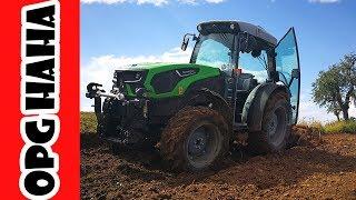 TANJURANJE! Deutz Fahr 5DF 5105 Vocarski Traktor - Zagrijavanje s tanjuracom od 24 diska | Lijeska