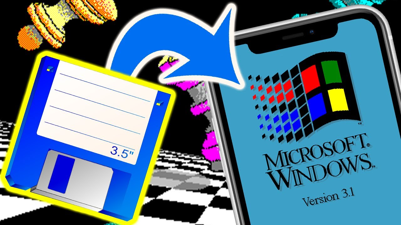 Download Installing Windows 3.1 on an iPhone From Floppy Disks!