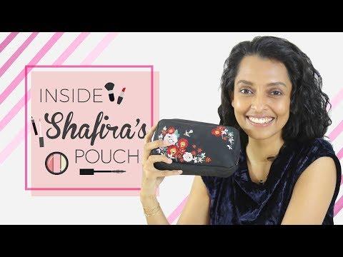 Shafira Umm   Inside Her Makeup Pouch