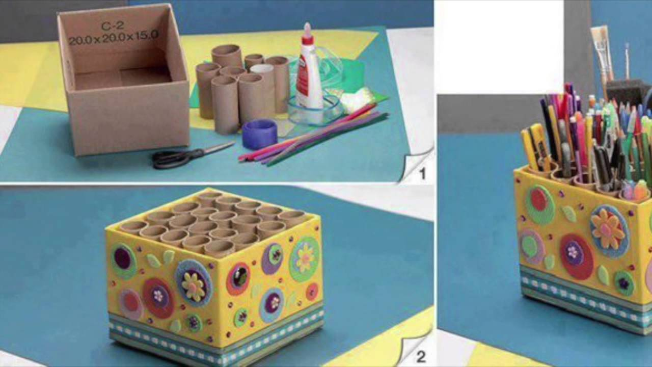 Agricola Redesign: Cardboard Box Upcycle Ideas - YouTube
