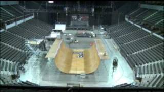 Bmx And Skate Vert Ramp Construction - Action Sports Tour