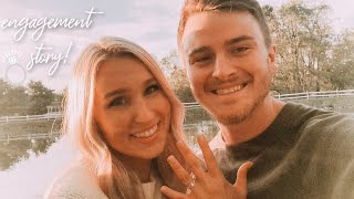 OUR ENGAGEMENT STORY: HOW HE PROPOSED! (the ring didn't fit)
