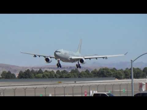 *RAF Visitor* Royal Air Force KC2 Voyager(A330-243MRTT)(ZZ333) arrives at Las Vegas!