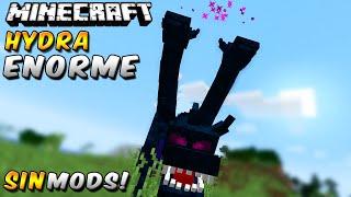 Minecraft: NUEVO INCREÍBLE JEFE HYDRA SIN MODS!! (Inmensa criatura de 3 cabezas!)