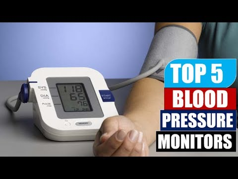 Top 5 Blood Pressure Monitors   Best Omron Blood Pressure Monitor Reviews By Dotmart