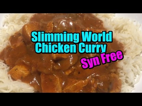 EASY Slimming World Chicken Curry - Syn Free