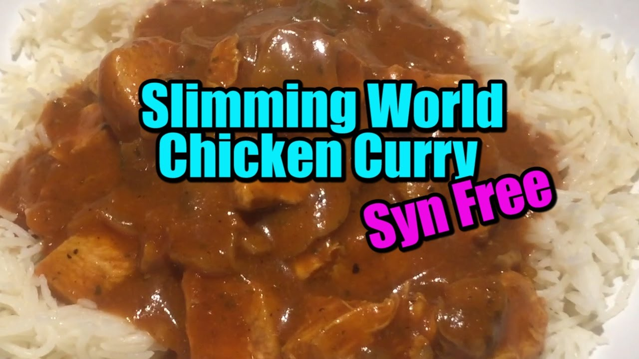Easy Slimming World Chicken Curry Syn Free