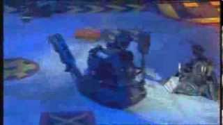 Robot Wars - Firestorm Flips Mr. Psycho! (HQ)