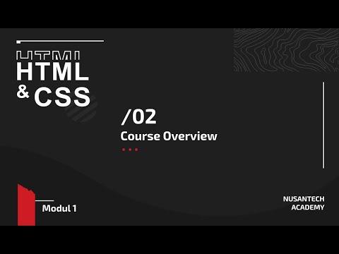 Nusantech Academy: HTML & CSS - 02 - Setup Tools