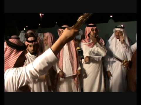 حداية قبيلة حرب في حفل زواج الشيخ راكان...