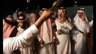حداية قبيلة حرب في حفل زواج الشيخ راكان المعطاني.wmv