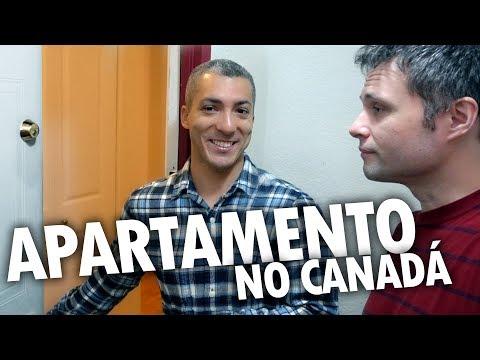 COMO É UM APARTAMENTO NO CANADÁ? - IMÓVEIS NO CANADÁ #1