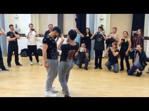 Studio Afro Latino Iris De Brito & partner - Kizomba demo in Copenhagen (2016)