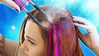 видео Как осветлить волосы в домашних условиях без краски и вреда для локонов